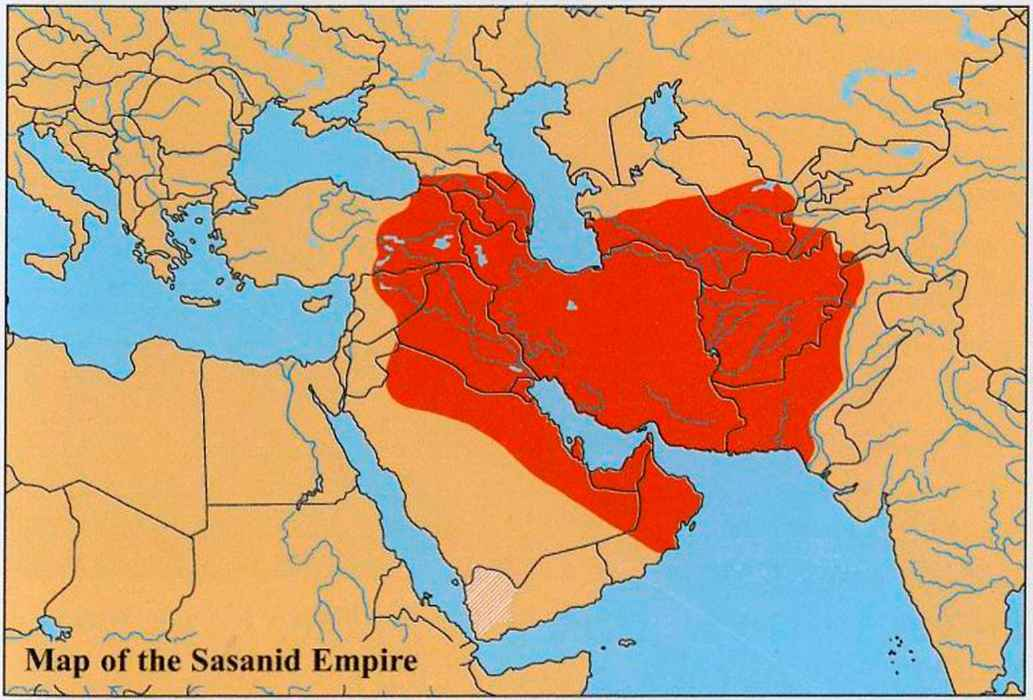 Umayyad Empire Map