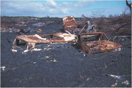 Volcano Damage Hawaii