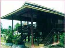 Rumah Adat Gorontalo Bantayo Poboide Indonesia Travel Brain Blog