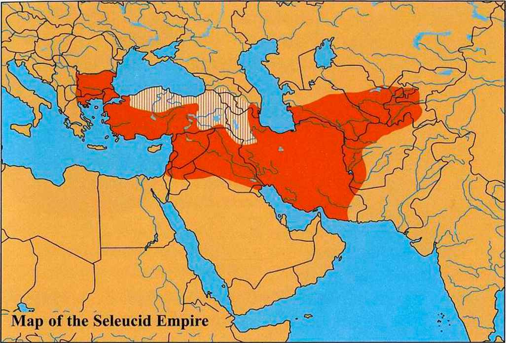 Hellenistic Empire On World Map