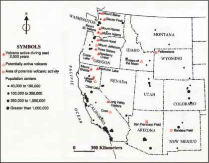 Tectonic Setting Volcano Guide Travel Brain Blog - Map active volcanos in us